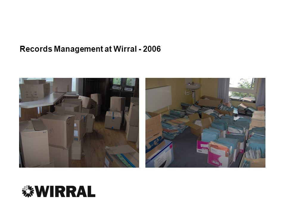 Records Management at Wirral - 2006