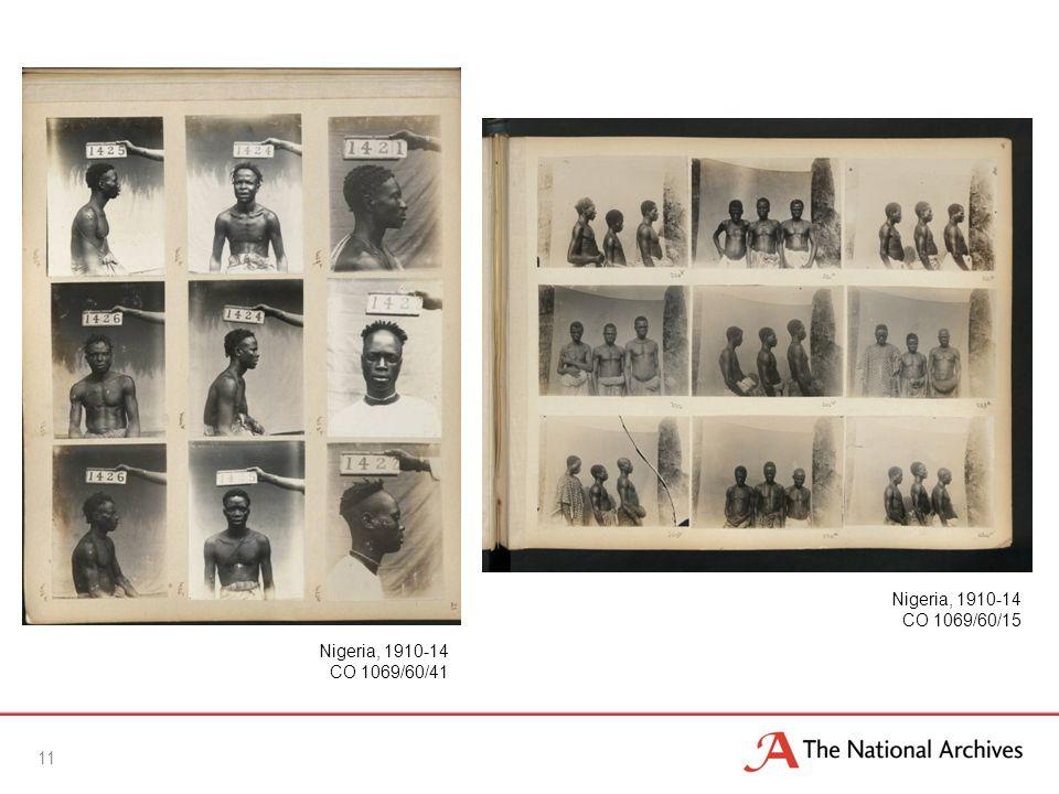 11 Nigeria, 1910-14 CO 1069/60/41 Nigeria, 1910-14 CO 1069/60/15