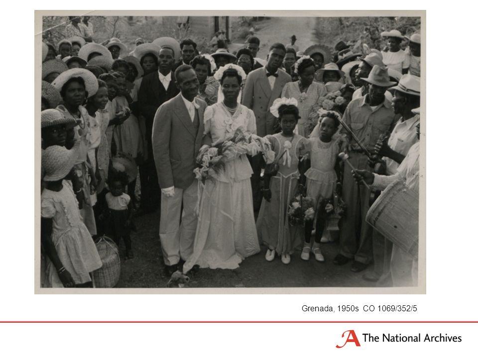 Grenada, 1950s CO 1069/352/5