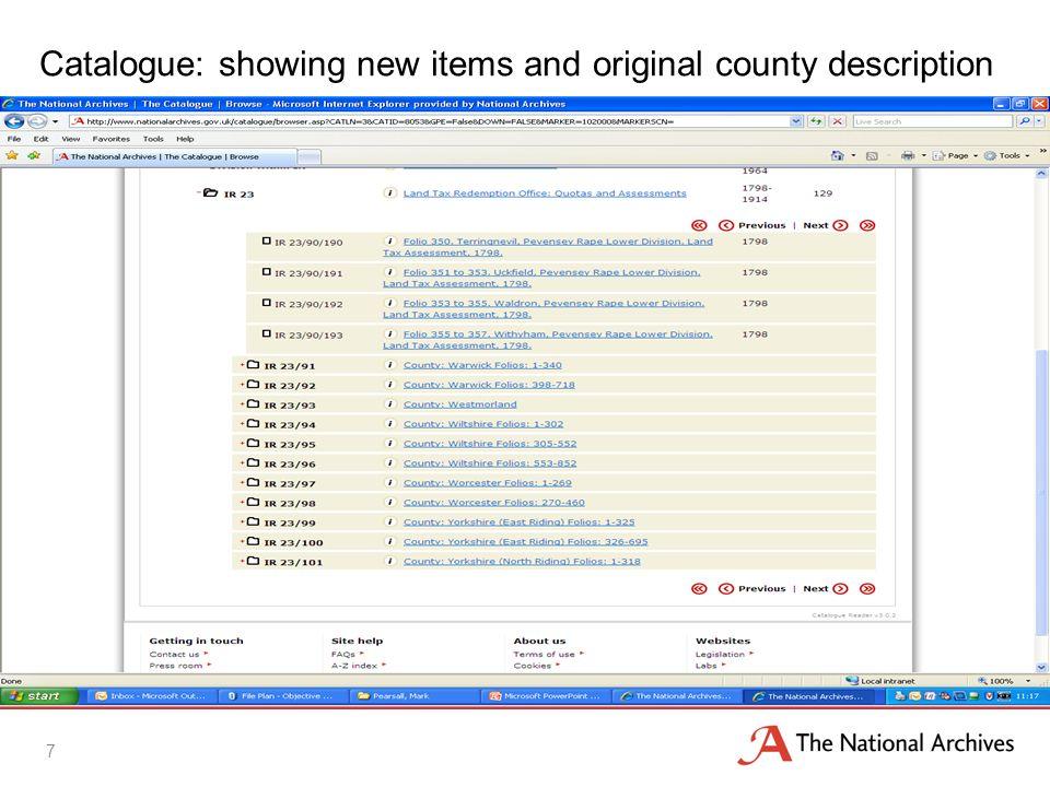 Catalogue search by parish: Raithby cum Maltby, Lincs. 8