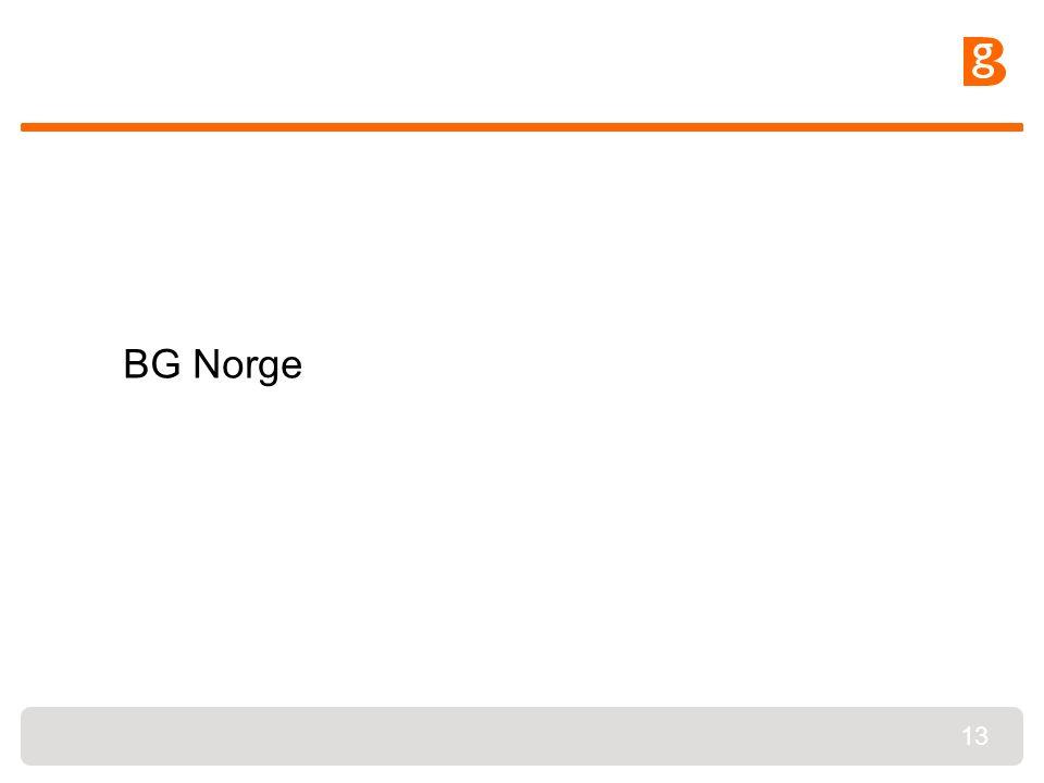 13 BG Norge
