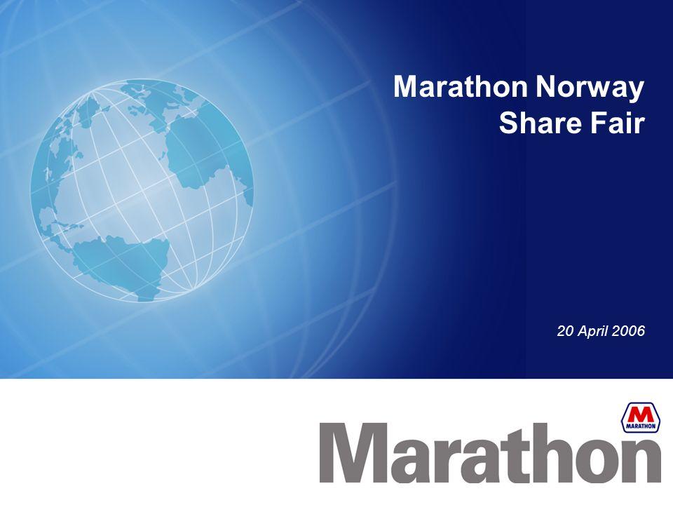Marathon Norway Share Fair 20 April 2006
