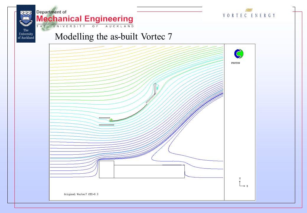 Modelling the as-built Vortec 7