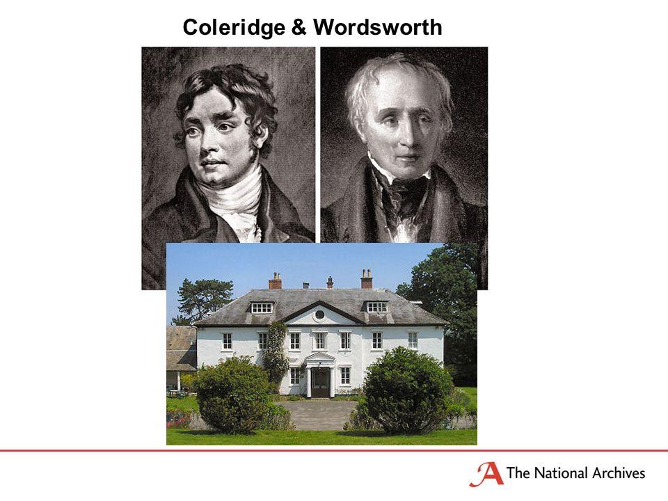 Coleridge & Wordsworth