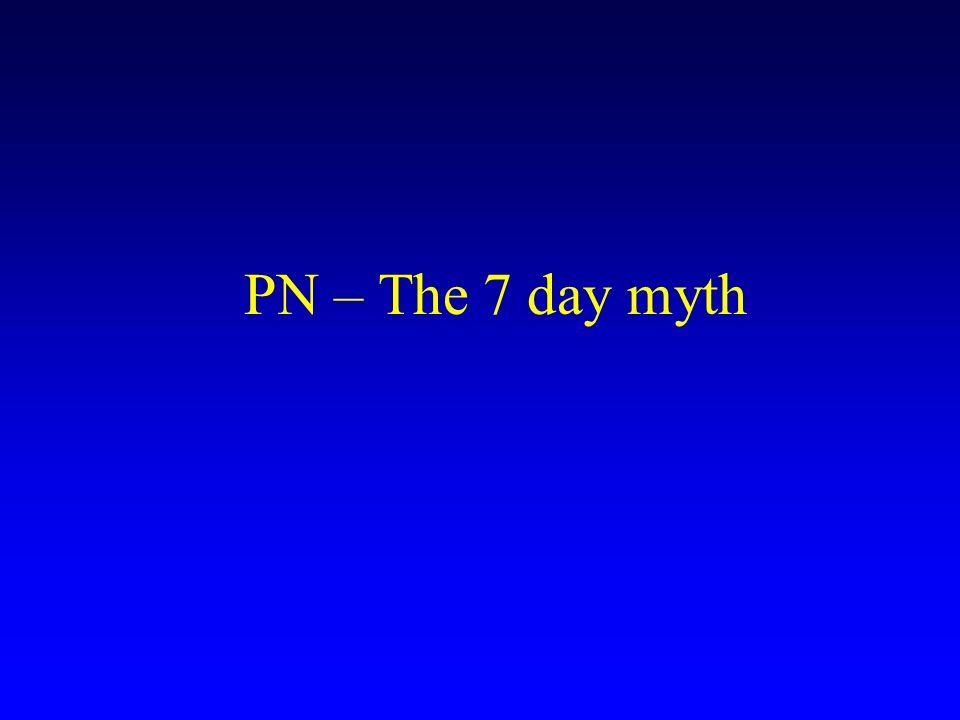 PN – The 7 day myth