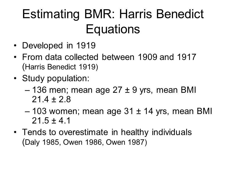 Total energy expenditure BMR Activity + DIT Activity + DIT HealthDisease BMR