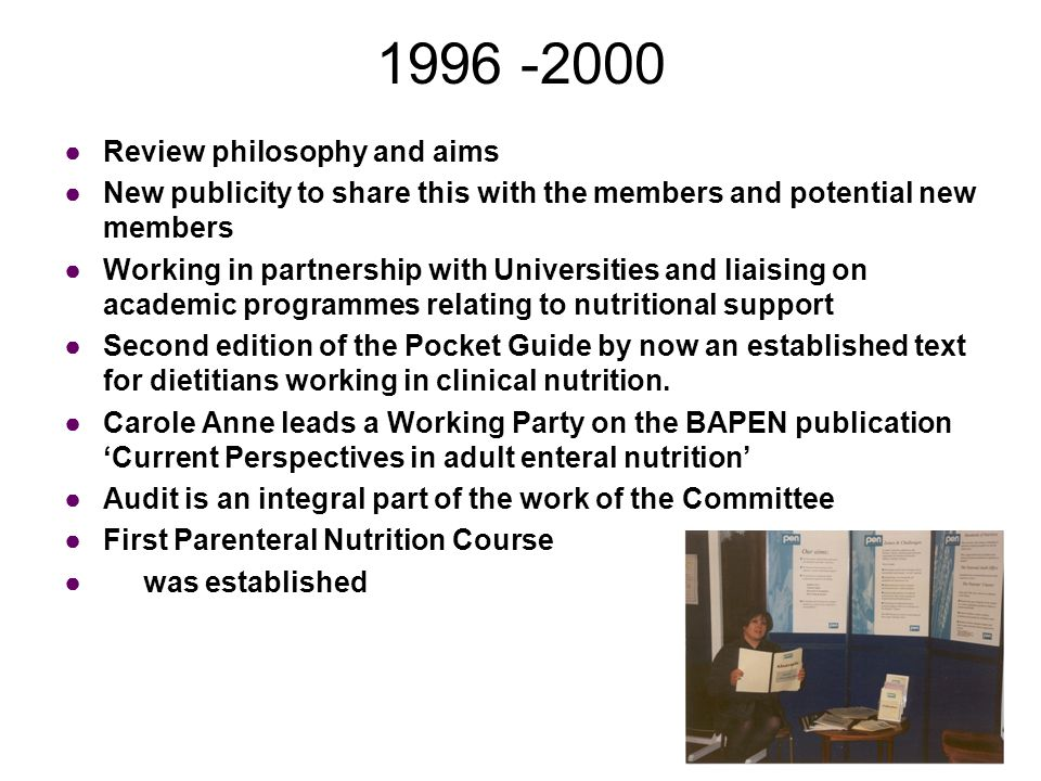 1996 -2000 …moving from strength to strength Carole Anne McAtear becomes Chairman in 1996 A new logo for a new image Membership steadily increasing year on year..now over 350 New Committee members include Clare Soulsby, Catriona McMasters, Sarah Whittingham, Lisa Cooper, Lyn Douglas, Paula Murphy and Jo Prickett ….And then Clare Soulsby leaves for Australia to pursue other activities…