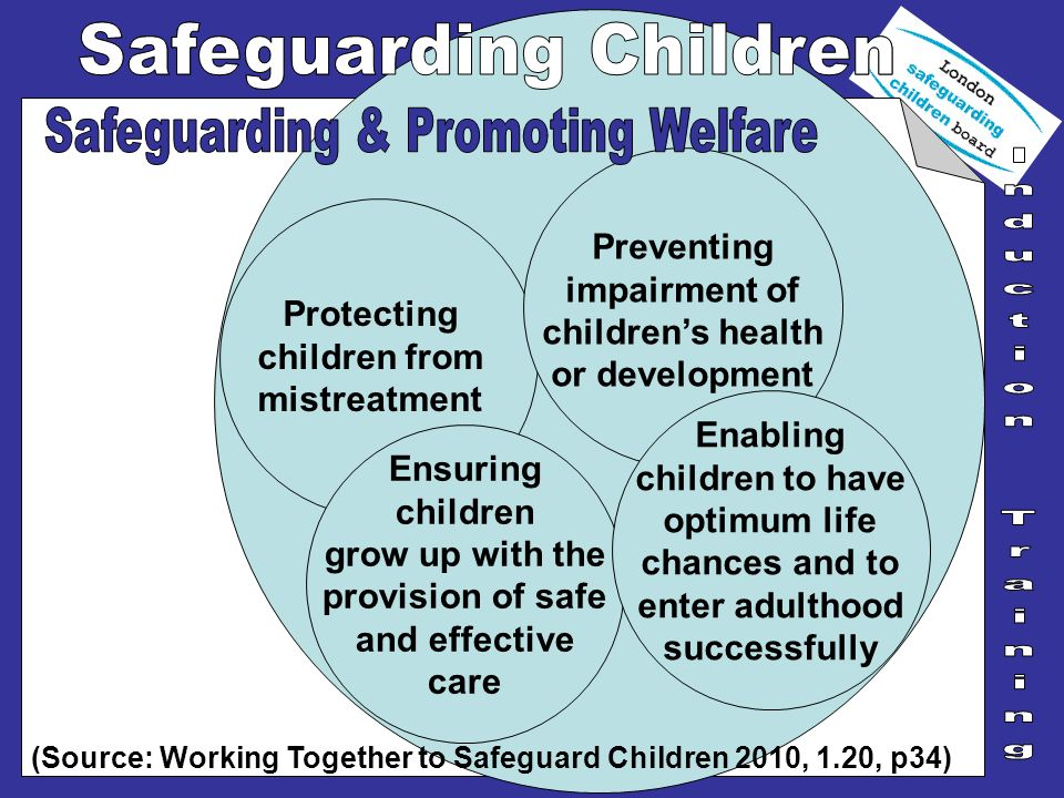 Protecting children from mistreatment Preventing impairment of childrens health or development Ensuring children grow up with the provision of safe an