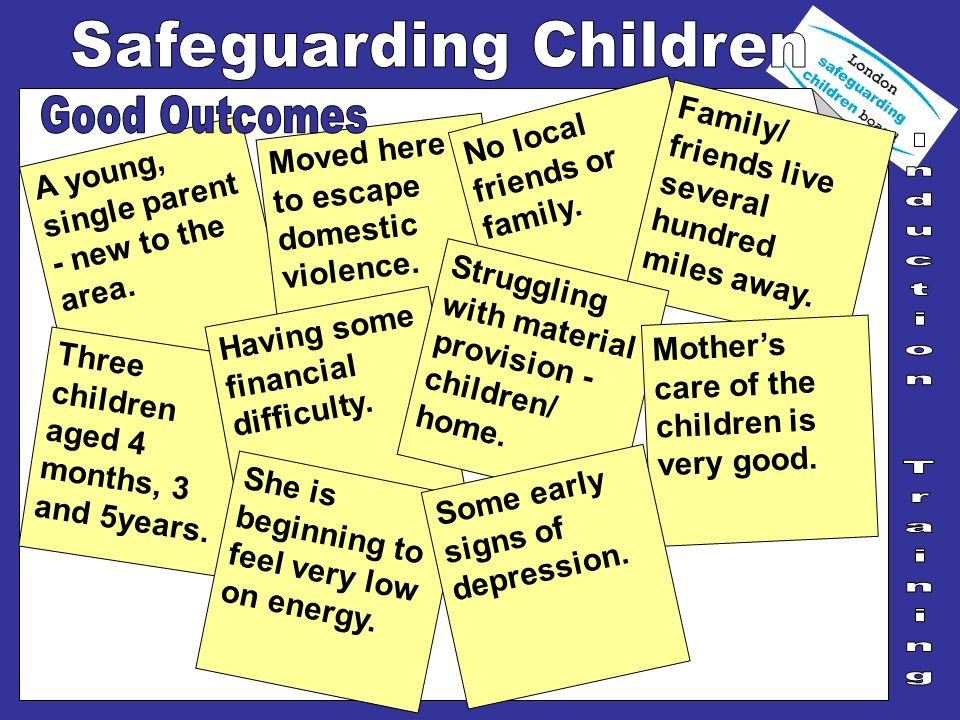 Take time to read local C.P.procedures and guidelines.