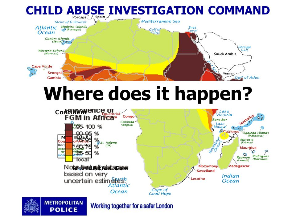 CHILD ABUSE INVESTIGATION COMMAND Where does it happen