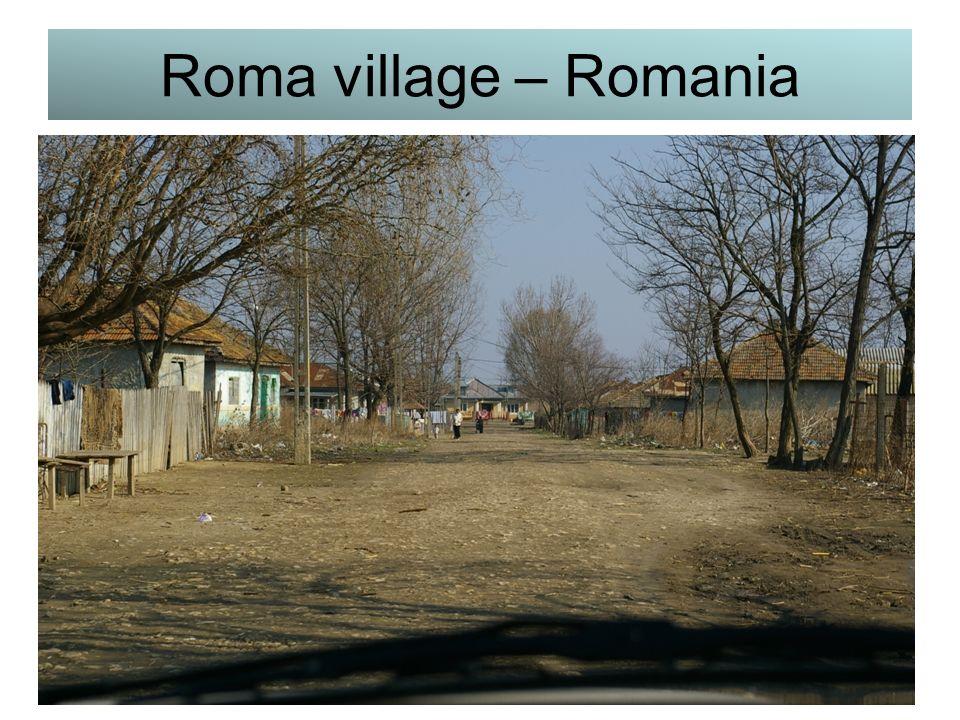 Roma village – Romania