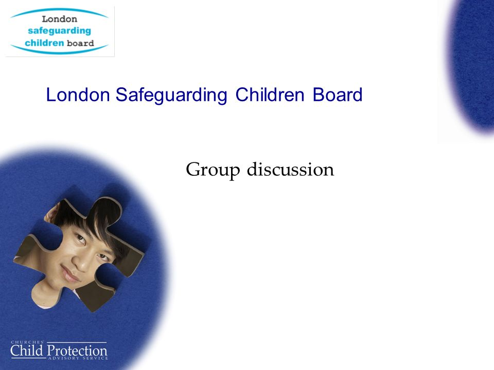 London Safeguarding Children Board Group discussion