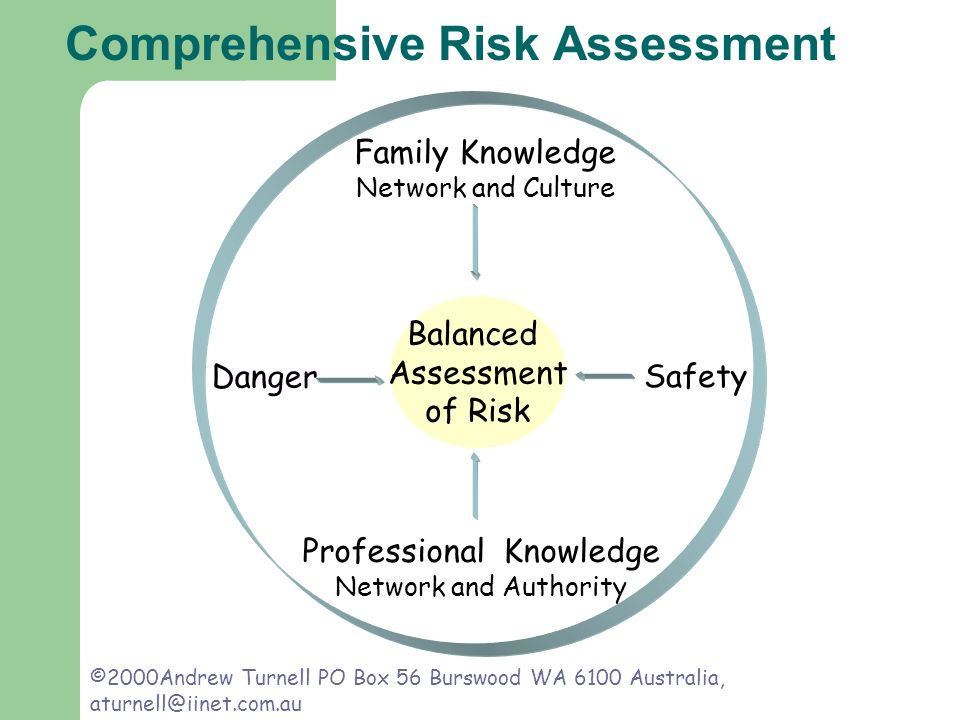 Comprehensive Risk Assessment Family Knowledge Network and Culture Professional Knowledge Network and Authority Danger Safety Balanced Assessment of R