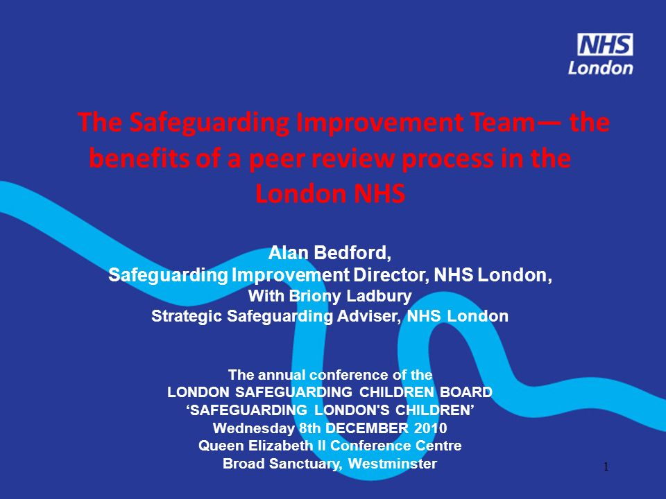 2 This seminar will look at What is the Safeguarding Improvement Team (SIT) What is its purpose How Teams are put together Methodology used Experience of team members The Experience of those visited Key learning points Other developmental schemes in the London NHS
