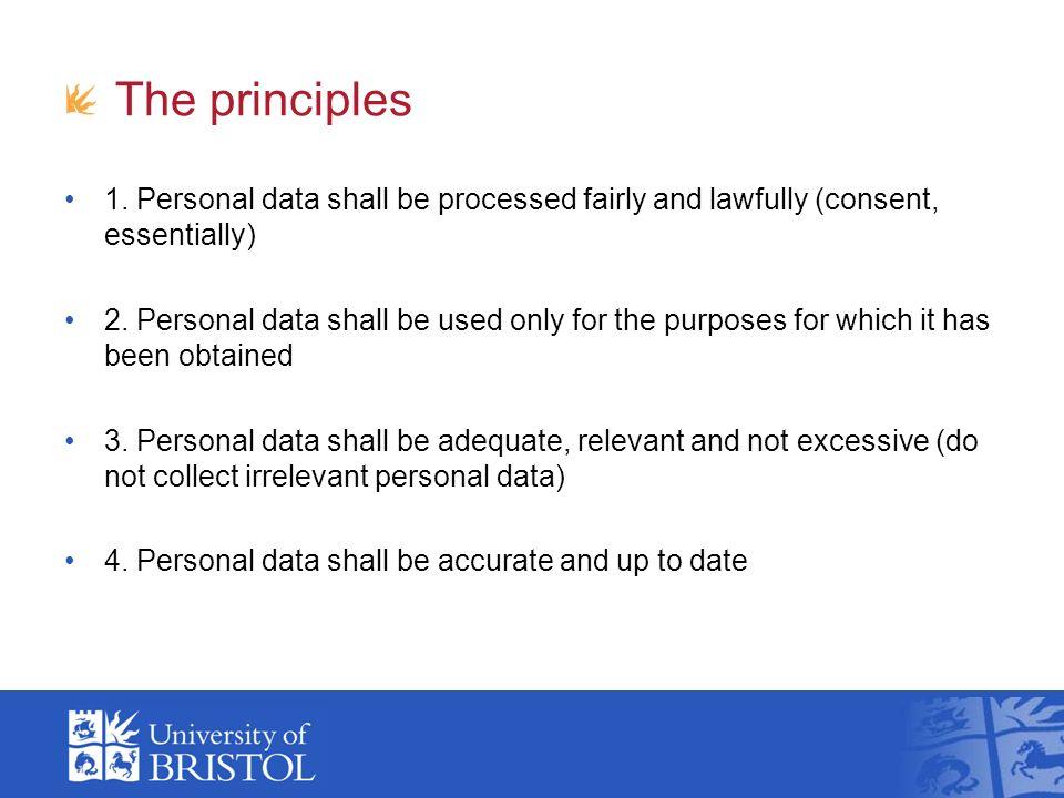 Guidance / advice Data Protection website: http://www.bristol.ac.uk/secretary/dataprotection/ http://www.bristol.ac.uk/secretary/dataprotection/ Information Security website: http://www.bris.ac.uk/infosec/http://www.bris.ac.uk/infosec/ Mandatory data security training module: http://www.bris.ac.uk/infosec/training/ http://www.bris.ac.uk/infosec/training/ How to encrypt documents: http://www.bristol.ac.uk/it- services/learning/documentation/encrypt-1/encrypt-1il.pdfhttp://www.bristol.ac.uk/it- services/learning/documentation/encrypt-1/encrypt-1il.pdf Information Security Manager (Richard Hopkins): cert@bristol.ac.ukcert@bristol.ac.uk