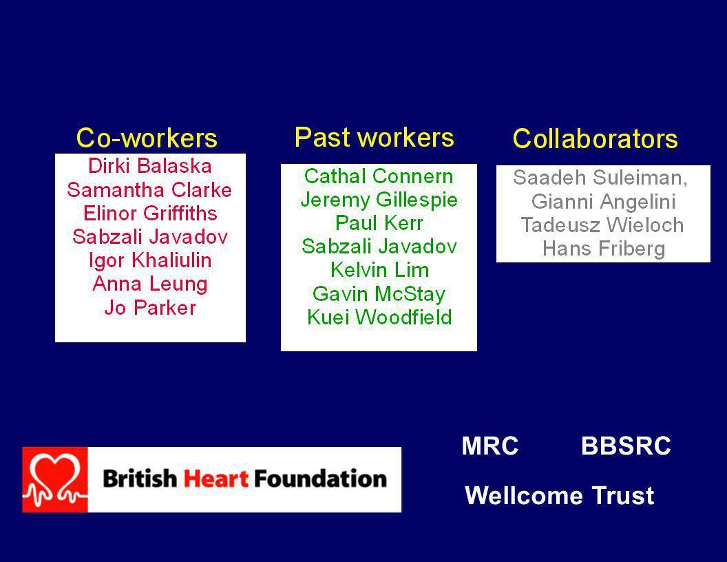 MRCBBSRC Wellcome Trust