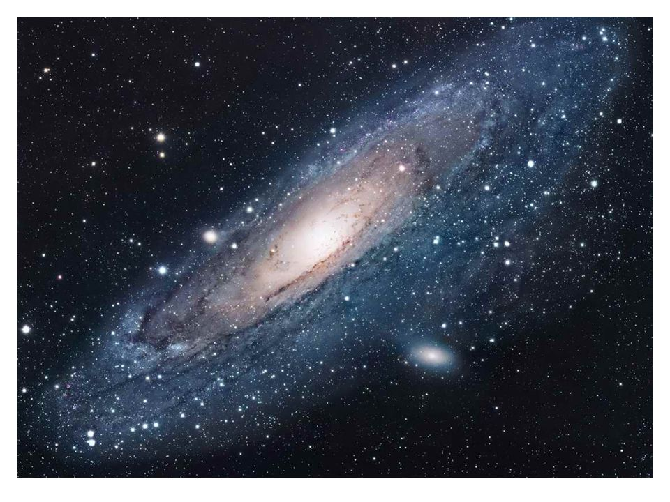 Edwin Hubble Edwin Hubble discovered objects beyond the Milky Way - Andromeda He realised that these objects are all moving away from us By the cosmol