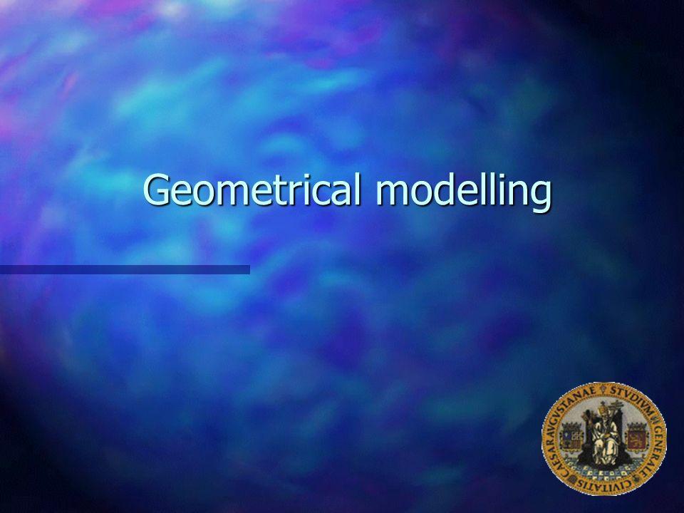 Geometrical modelling