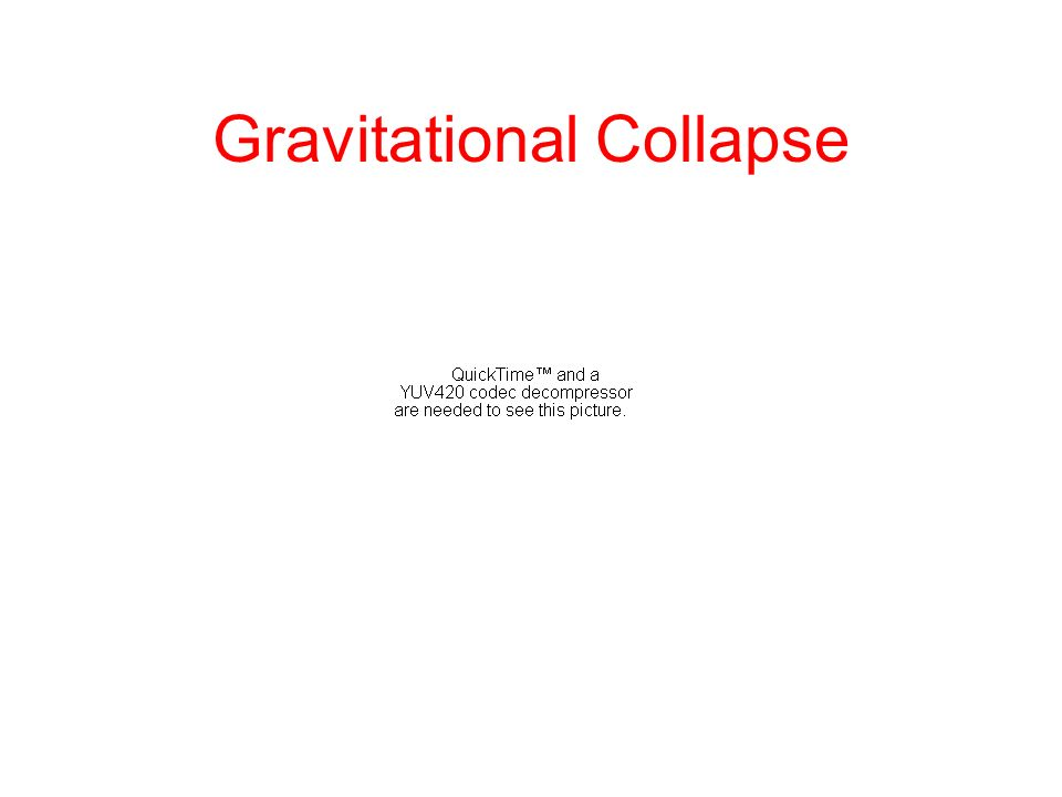 Gravitational Collapse