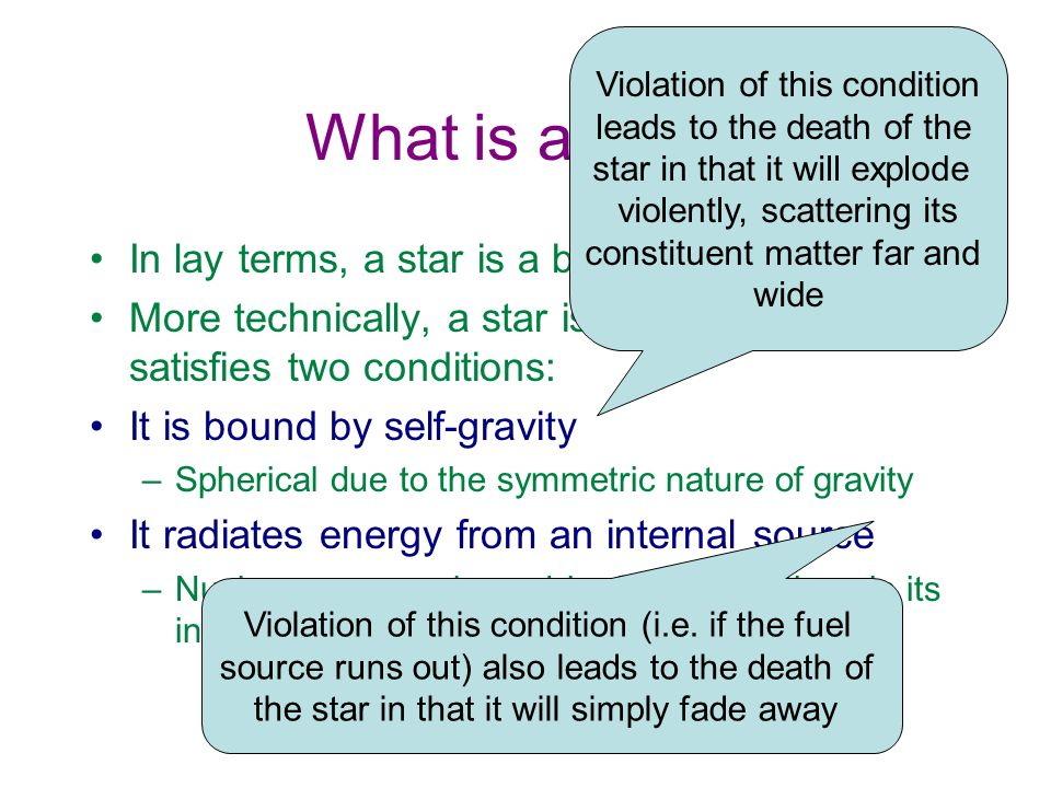 Main Sequence: Processes For stars with masses at least 0.08 M sun Central temperature reaches 10 7 K, stars start burning Hydrogen (fusion) in their cores Net effect: four protons turn into Helium nucleus: This releases significant amounts of energy The energy is transported to the stars surface by radiation or convection