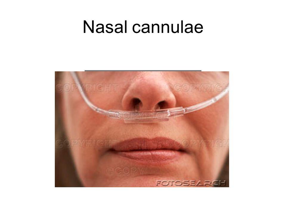 Nasal cannulae