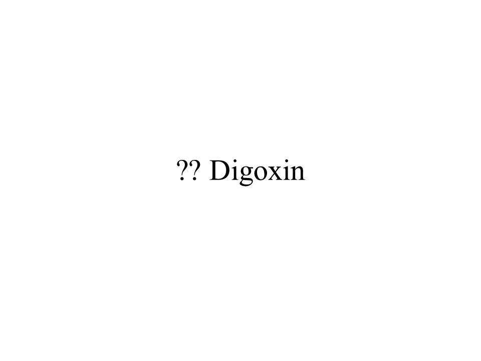 ?? Digoxin