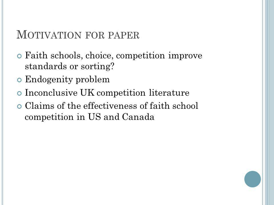 10 SCHOOL COMPETITION SPACE BY TOP ABILITY COMPOSITION OF PUPIL INTAKE