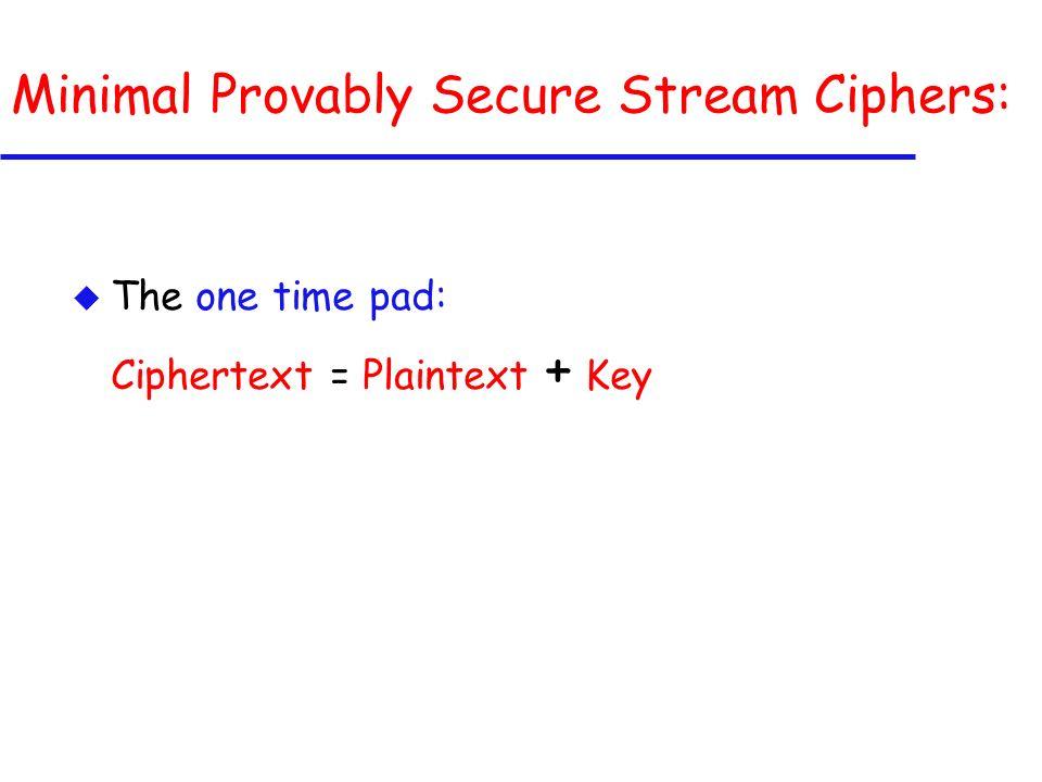 Daemens Chosen Plaintext Attack: u Consider the differential properties of F.
