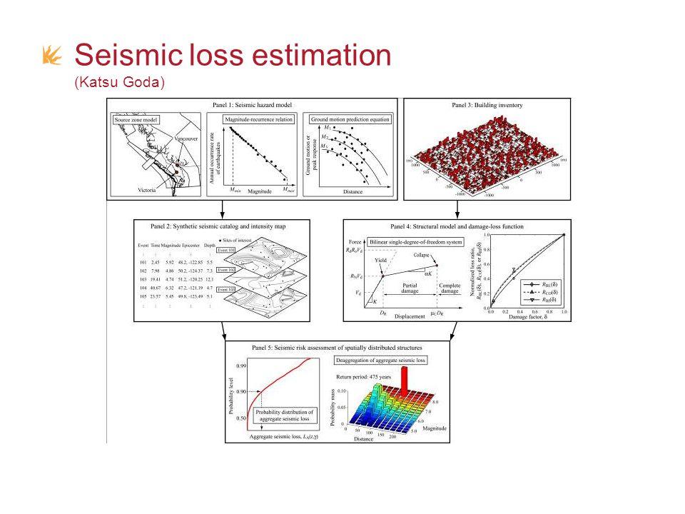Seismic loss estimation (Katsu Goda)