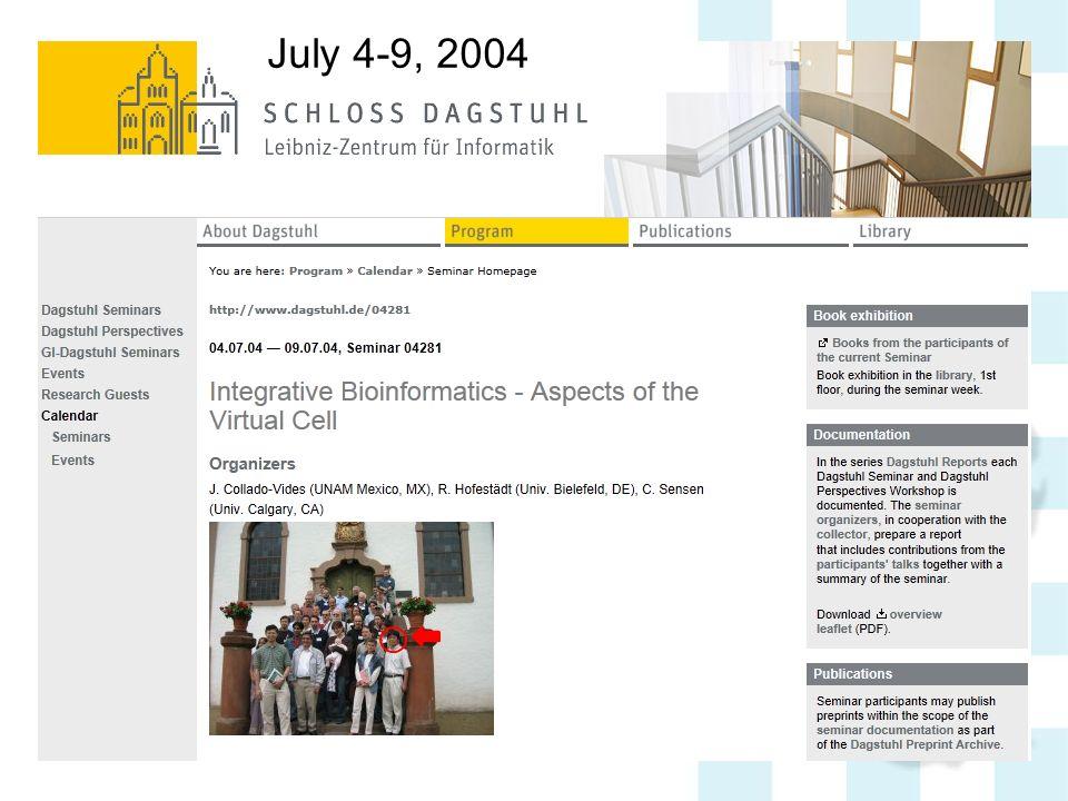 July 4-9, 2004