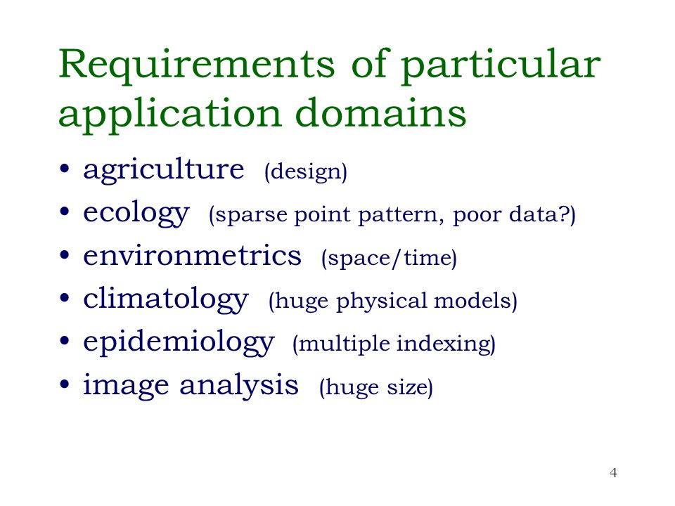 35 Spatial epidemiology applications Spatial contiguity is usually somewhat idealised
