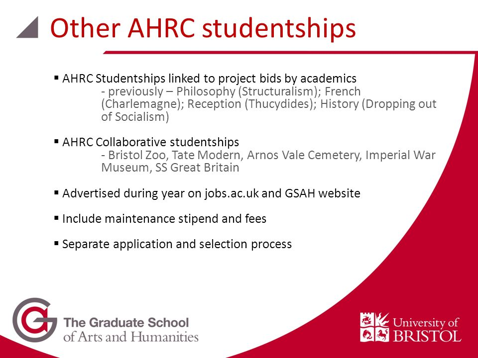 AHRC Studentships linked to project bids by academics - previously – Philosophy (Structuralism); French (Charlemagne); Reception (Thucydides); History