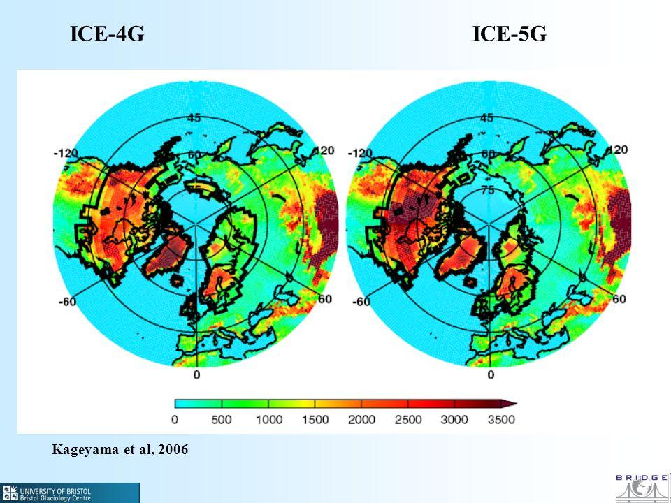 Kageyama et al, 2006 ICE-4GICE-5G