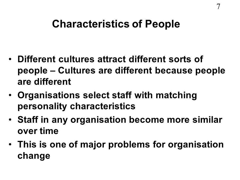 18 Organisation as a set of sub-cultures Societal culture Organisational culture Organisational sub- cultures