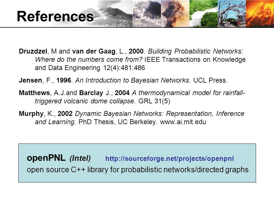 References Druzdzel, M and van der Gaag, L., 2000.