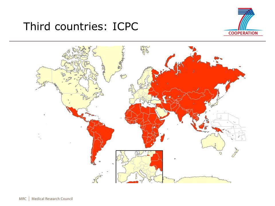 Third countries: ICPC