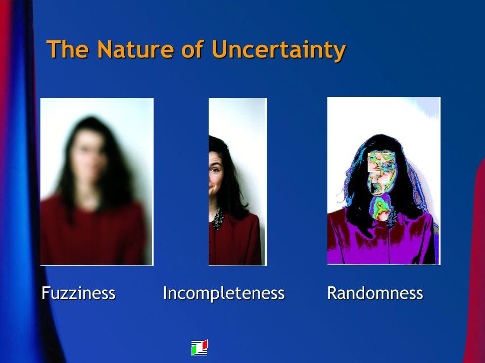 Fuzziness Incompleteness Randomness