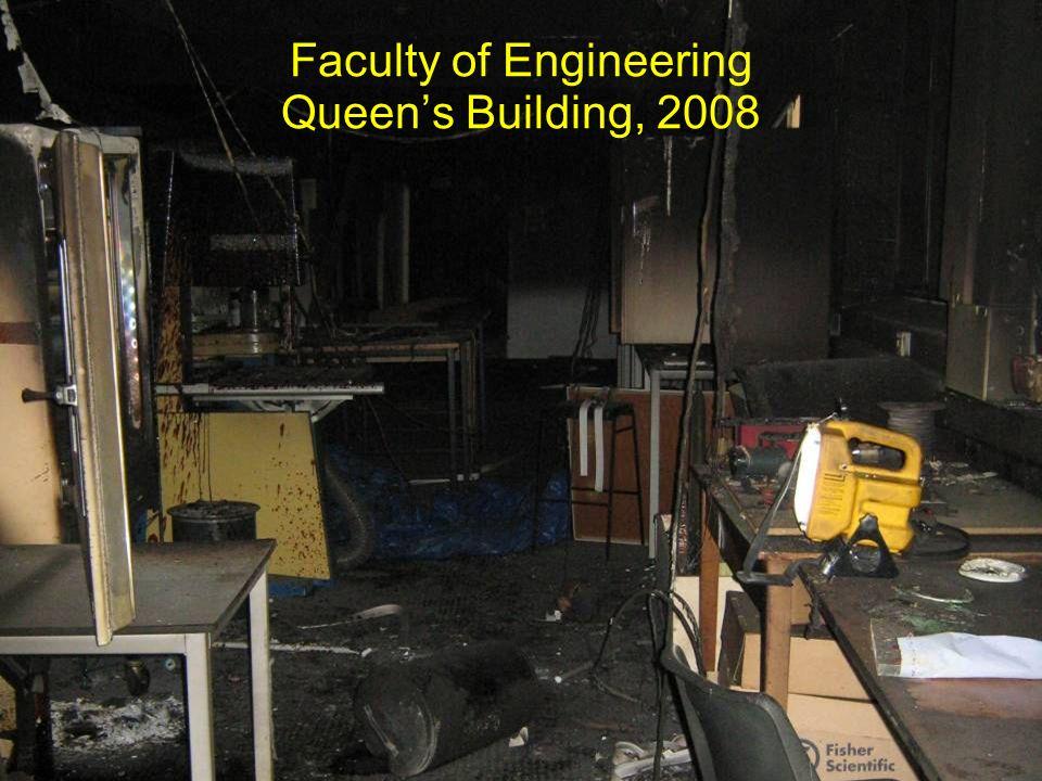 Faculty of Engineering Queens Building, 2008