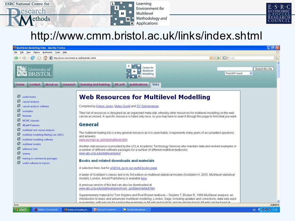 http://www.cmm.bristol.ac.uk/links/index.shtml