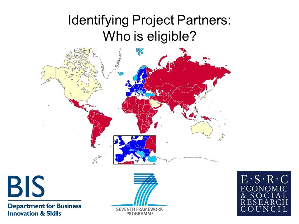 Identifying Project Partners: Who is eligible