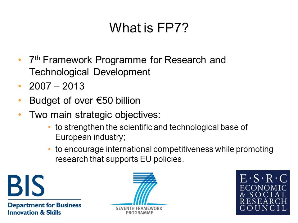 What is FP7.