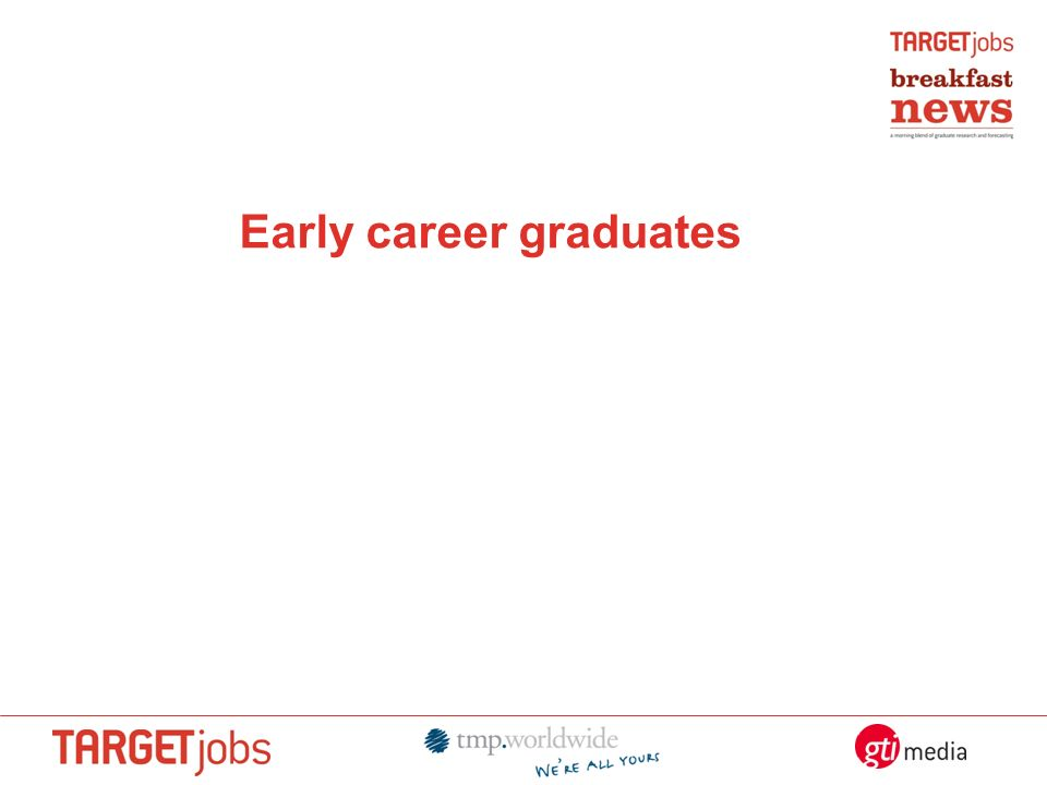 Early career graduates