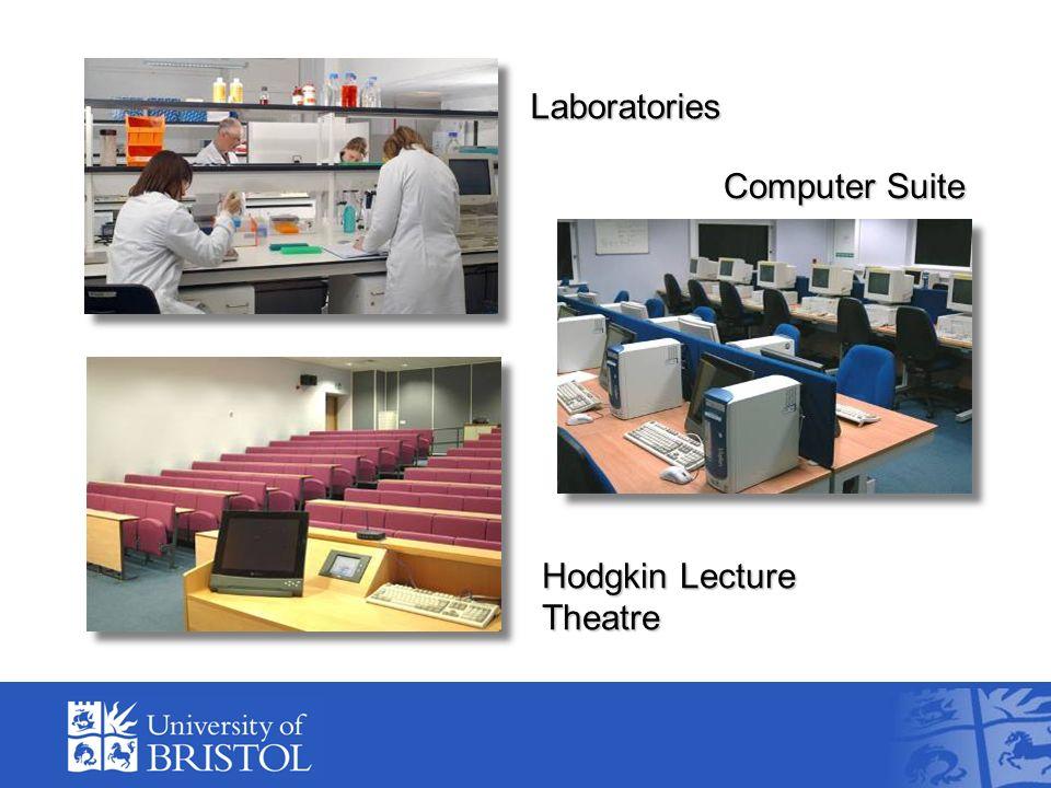Laboratories Hodgkin Lecture Theatre Computer Suite
