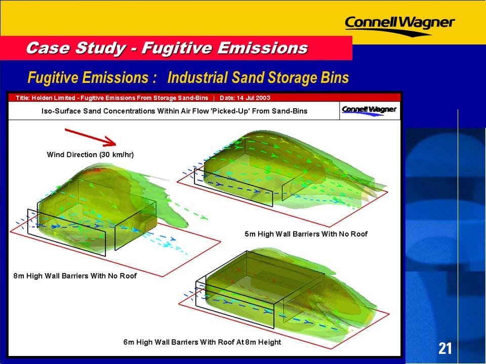 21 Fugitive Emissions : Industrial Sand Storage Bins Case Study - Fugitive Emissions