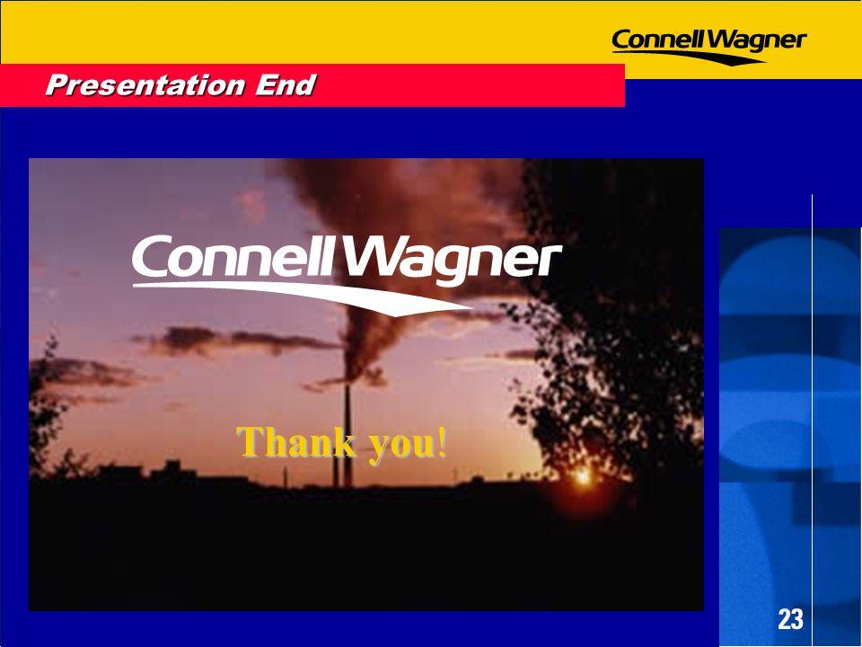 23 Presentation End Thank you!