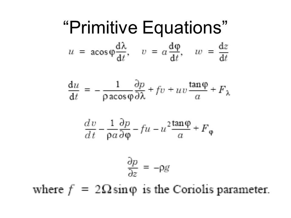 Primitive Equations