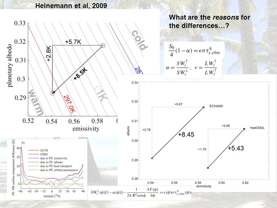 What are the reasons for the differences…? Heinemann et al, 2009