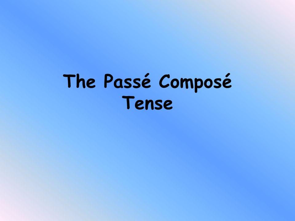 The Passé Composé Tense