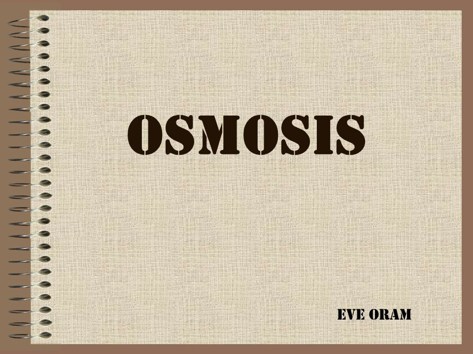 If the osmotic potential of the solution is the same as the water potential of the cytoplasm (the solution is isotonic ), there will be no net osmosis.