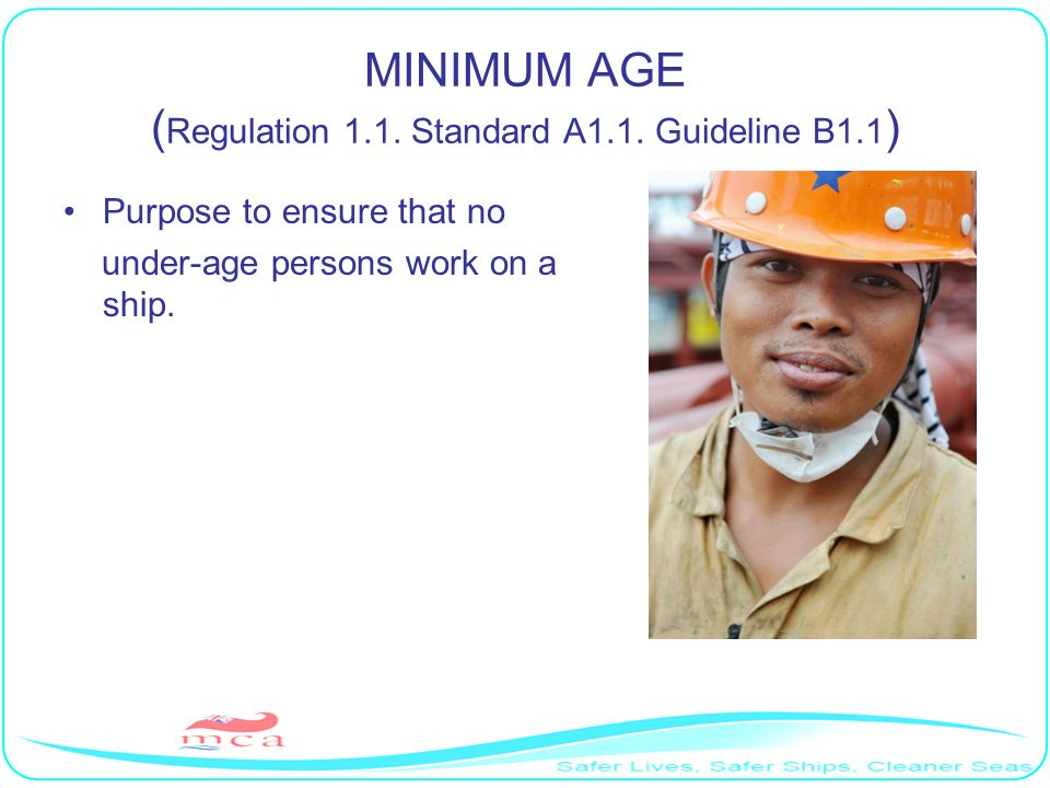 Basic requirements Public services must operate in an orderly manner that protects and promotes seafarers employment rights.